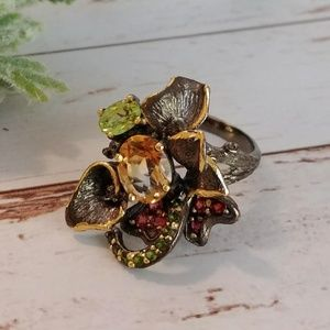 Jewelry - Artist Designed Citrine Sterling Ring